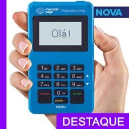 Título do anúncio: Maquinineta De Cartão Point Mini Chip A Maquininha Sem Celular Promoção