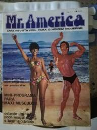 Título do anúncio: Revista relíquia Mr. America / fisiculturismo