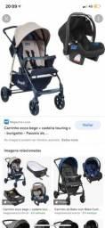 Título do anúncio: Carrinho de bebê burigotto + bebê conforto