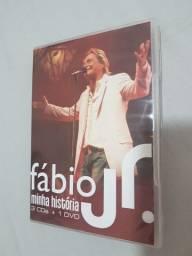Título do anúncio: DVD + 3 CDs Fabio Jr