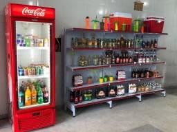 Vende-se equipamentos de conveniência e mercadorias