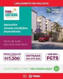 Título do anúncio: Parque Luzitânia , em Paulista-Apt 2 QTOS, minha casa minha vida