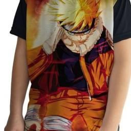 Camisetas Infantis Animes Diversificados