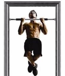 Barra Fixa Ajustavel de porta para exercícios 60cm à 1m