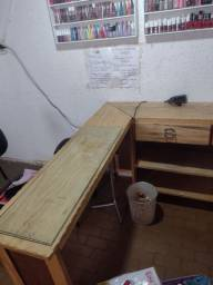 Título do anúncio: Mesa manicure madeira pura