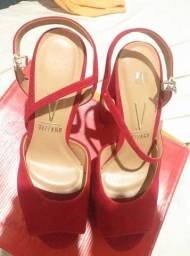 Título do anúncio: sapato Vizzano de camurça