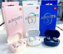 Título do anúncio: Airdots 3 lacrado, original e com garantia. Fone sem fio xiaomi.