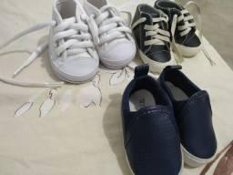 Sapatos infantis do 14 ao 17