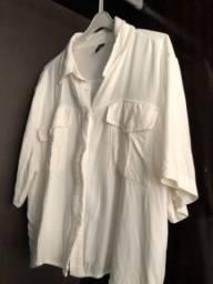 Título do anúncio: camisa de botão cropped branca
