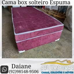 Título do anúncio: Cama solteiro box ##