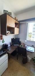 Título do anúncio: Escrivaninha com armário aéreo em MDF para escritório.