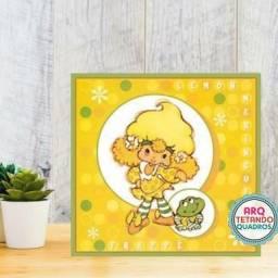Placa Decorativo laranjinha- Tem: 20cm x 20cm -