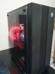Título do anúncio: PC Gamer novo. I5 com placa de Vídeo