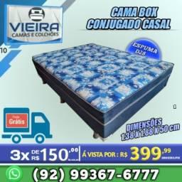 Título do anúncio: cama casal (entrega gratis)