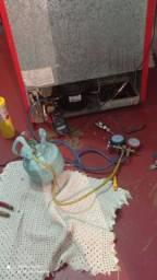 Título do anúncio: Carga e manutenção de geladeira