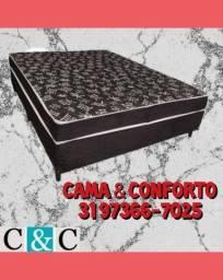 Título do anúncio: CAMA BOX CASAL ($379,90) , BASE BOX CASAL ($279,90) ENTREGA GRÁTI$