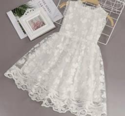 Título do anúncio: Vestido Branco ABC