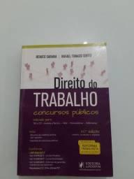 Livro Direito Juspodivm Direito do Trabalho 20° edição