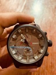 Título do anúncio:  Relógio Curren Original de Couro (Novo )