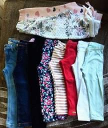 Lote roupa menina Tam 2 a 3 anos