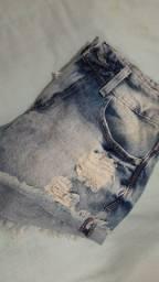 Título do anúncio: Short jeans 34 muito novo