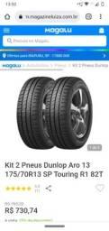 Título do anúncio: Dois pneu 175/70/13