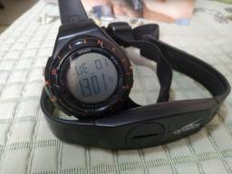 Relógio + controlador cardíaco