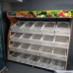 Título do anúncio: Expositor de legumes e frutas