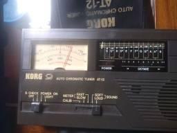 Afinador Acordeon Korg Auto Chromatic Tuner At-12