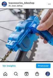 Título do anúncio: Limpador de corrente para bicicleta
