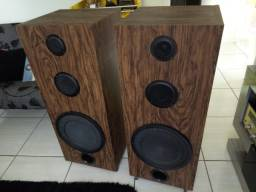 Caixas Acústicas DIY 3 vias