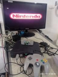 Título do anúncio: Nintendo 64 funcionando perfeitamente