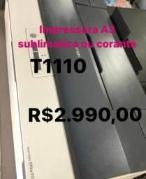 Impressora Epson T1110 A3 c/ Bulk INK + tinta sublimatica + dispenser