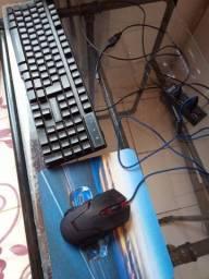 Título do anúncio: Teclado gamer, e mouse gamer