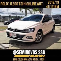 Polo 1.0 TSI 200 highline aut 2018/19 - Marcelo Braga