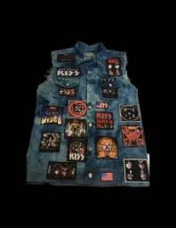 Título do anúncio: Colete Rock Jeans Sublimado e Bordado Personalizado