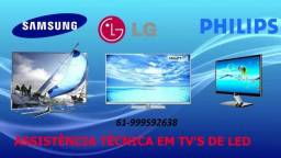 Assistencia Técnica TV Led Plasma Domicílio