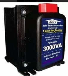 Auto Transformador 3.000VA 127V/220V ( Entrega Grátis )