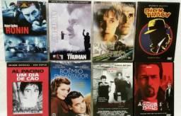 Lote DVDs 32 filmes - MIB, Robocop, Alice, Múmia, Bourne