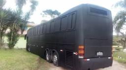 Ônibus, scania 112-87. pronto para banda
