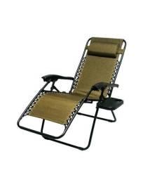 Cadeira Outdoor Juliana Reclinável E Com Porta Copo