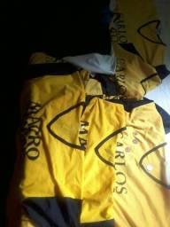 Uniforme de futebol só as camisas