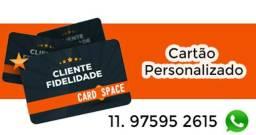 Cartão em PVC Personalizado Empresas