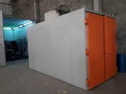 Equipamentos para pintura eletrostática
