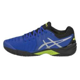 d48dcdbfe31 Tênis Asics Gel Resolution 7 Illusion Azul 2019