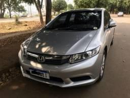 Honda Civic Lxs 1.8 2014 automático completo novinho - 2014