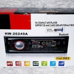 Rádio FM para carro a Bluetooth