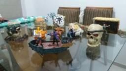 Coleção Pirata Mega Bloks