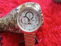 Relógio masculino Nibosi Original a prova d'água barato