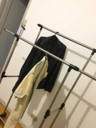 Arara dupla de roupas